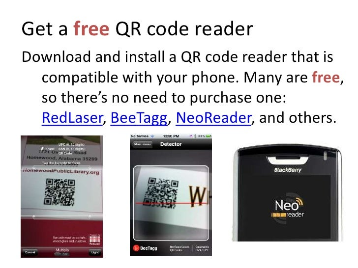 In a nutshell, install a QR Reader on your phone, take a photo of the code, and be quickly directed from something physica...