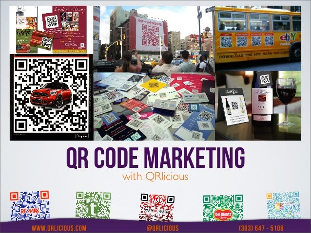 QR CODE MARKETING     with QRlicious