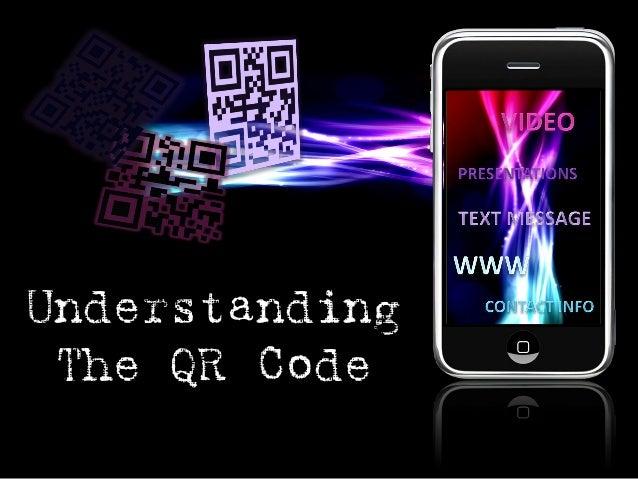 Understanding The QR Code