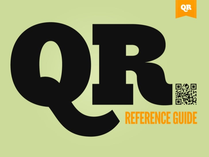 QR Code Reference Guide