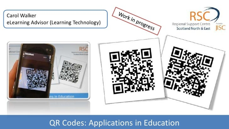 QR Codes: Applications in Education<br />
