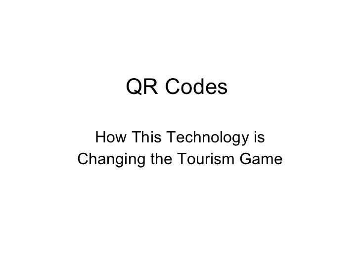 QR Codes  How This Technology is Changing the Tourism Game