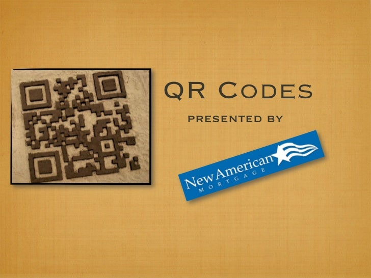 QR Codes presented by