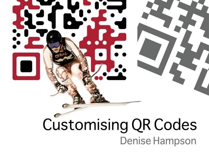 Customising QR Codes