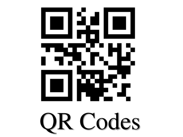 QR Codes<br />