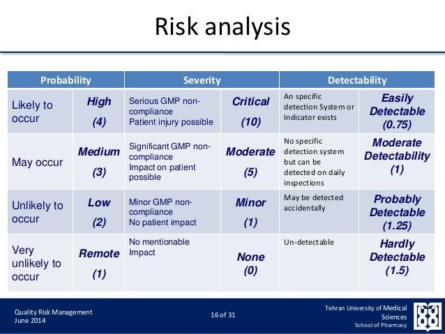 Qualitative Risk Analysis  BesikEightyCo