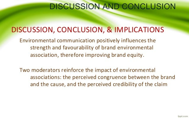 conclusion brand equity Conclusions, findings and managerial implication 61 chapter 6 conclusions, findings and managerial implication 61 summary of findings and conclusions: cash discount is it is also concluded that there is no significant difference between brand equity perception and.