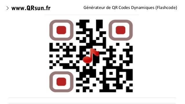 www.QRsun.fr  Générateur de QR Codes Dynamiques (Flashcode)