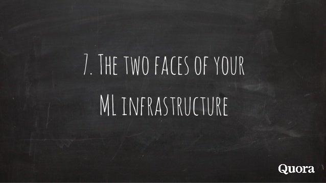 7.Thetwofacesofyour MLinfrastructure