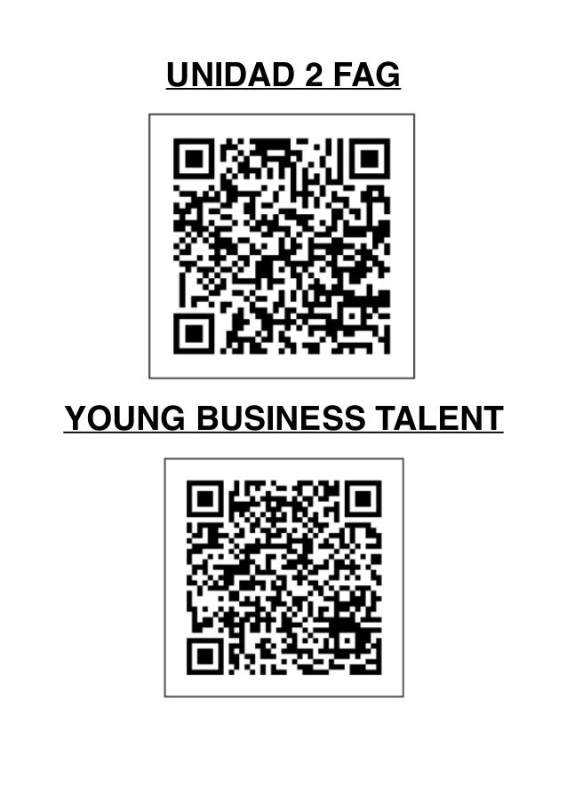 UNIDAD 2 FAG YOUNG BUSINESS TALENT