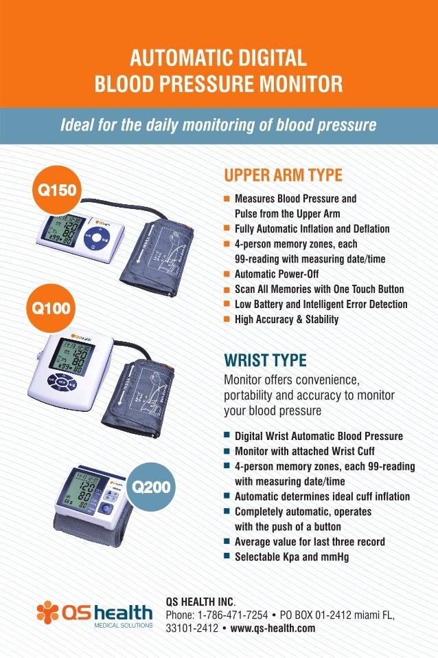 Qs health blood pressure monitors pdf