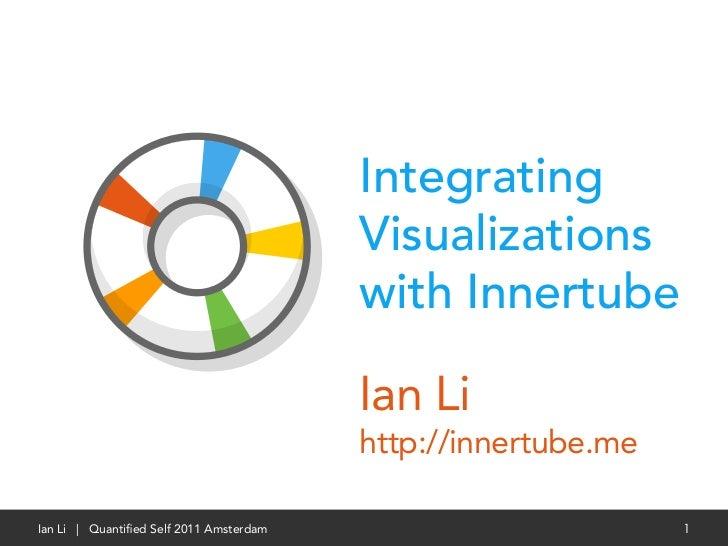 Integrating                                         Visualizations                                         with Innertube ...