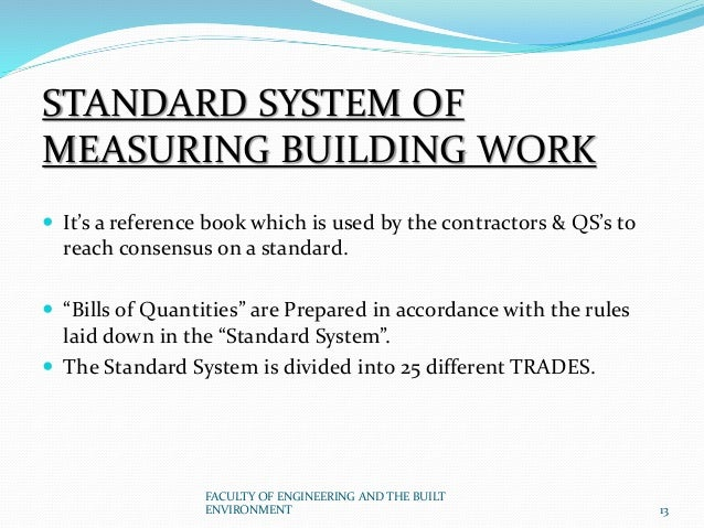 worked examples in quantity surveying measurement pdf