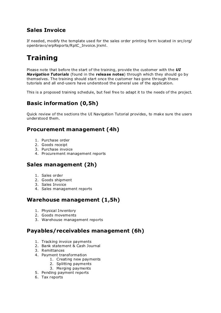 Sales Manual Template. best free training manual templates images ...