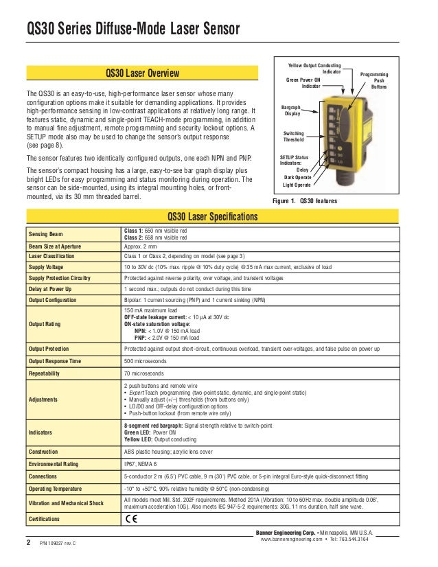 Qs30 ldq Banner Qs Engineering Wiring Diagram on