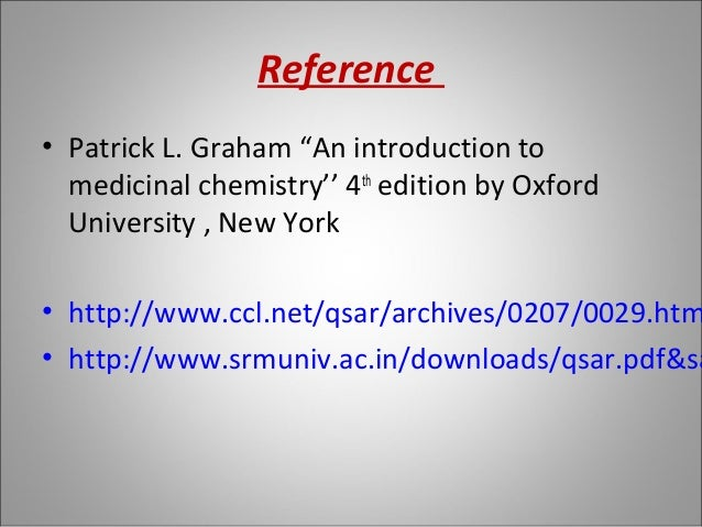 An Introduction to Medicinal Chemistry Patrick 4th Edition pdf