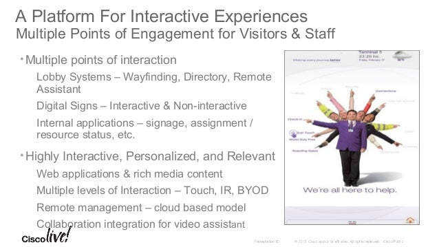 Application and Layout Examples Service Status & Information Information on available services, special exhibits, services...
