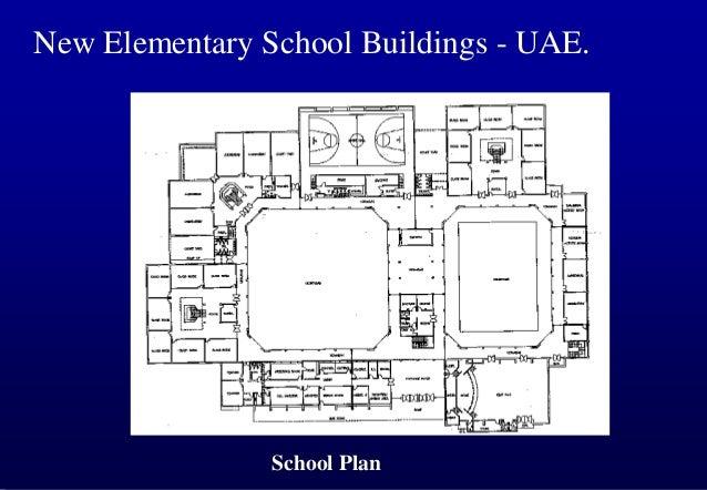 New Elementary School Buildings - UAE.  School Plan
