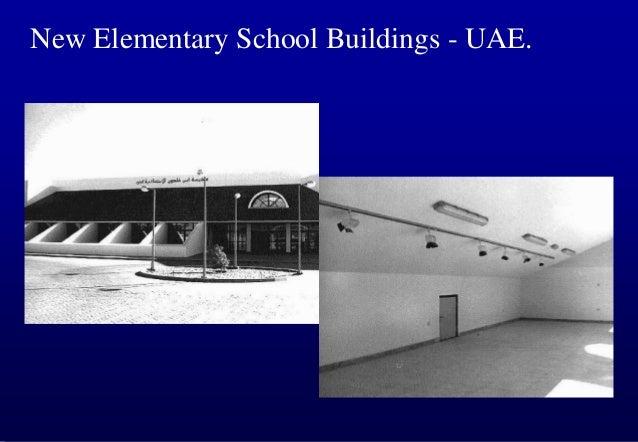 New Elementary School Buildings - UAE.