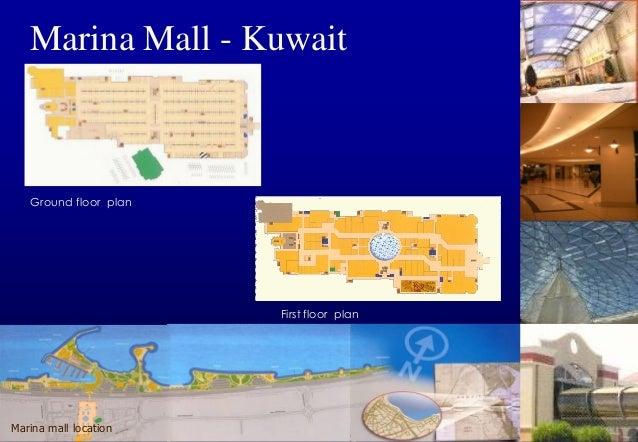 Marina Mall - Kuwait 5 4  3  2  1  Daytime (lux) Area 1  64  860  210  Area 3 7  250  Area 2 6  Night (lux)  670  118  Are...