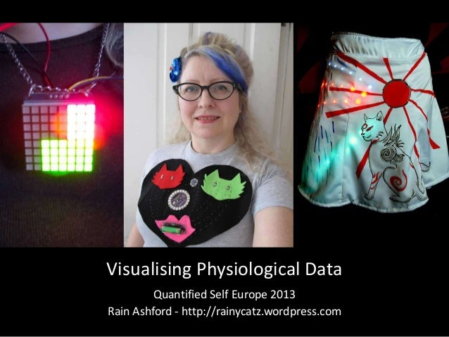 Visualising Physiological DataQuantified Self Europe 2013Rain Ashford - http://rainycatz.wordpress.com