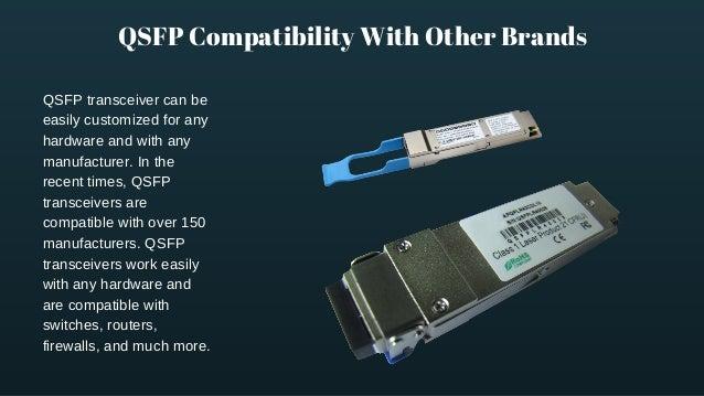 Qsfp transceiver explained in details