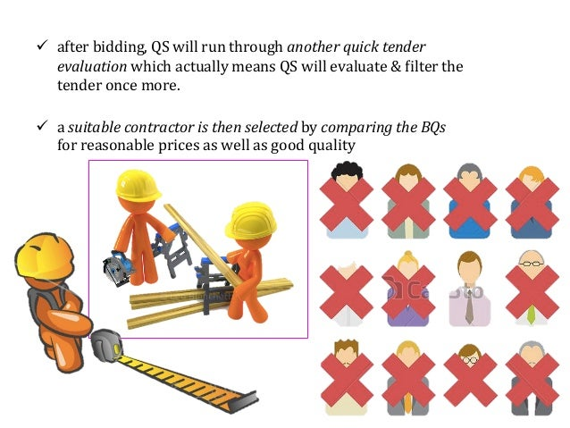 quantity surveyor presentation