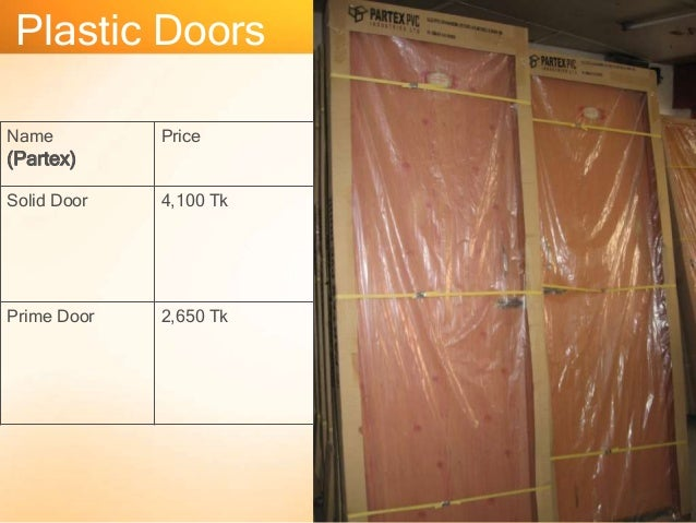 Door price rfl door price in bangladesh for Acrylic windows cost