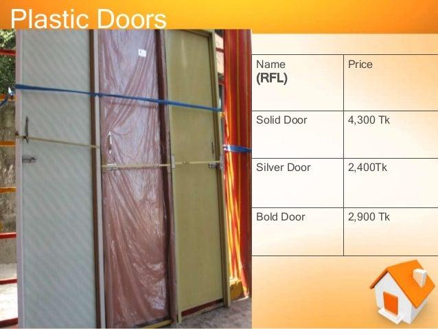 ... 5. Plastic Doors Name Price ... & Presentation on Door and Window pezcame.com