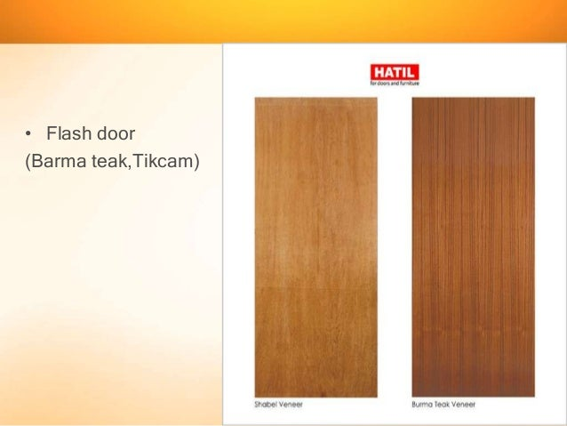 Flash door (Barma teakTikcam) ... & Presentation on Door and Window