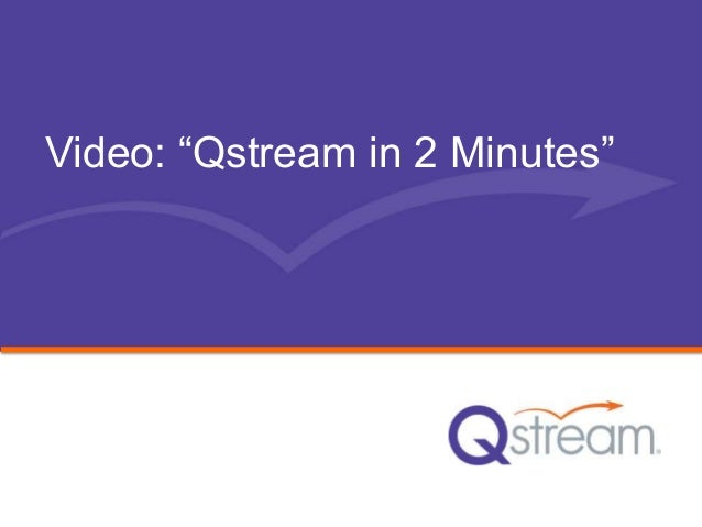 """Video: """"Qstream in 2 Minutes"""""""