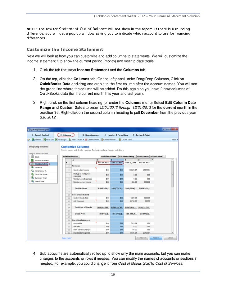 quickbooks 2012 report writer Tips and tricks for creating quickbooks reports and if you are an expert report writer you can create some of these reports on quickbooks report template.