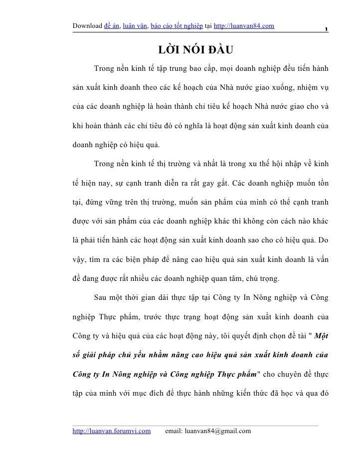 Download đề án, luận văn, báo cáo tốt nghiệp tại http://luanvan84.com      1                             LỜI NÓI ĐẦU      ...