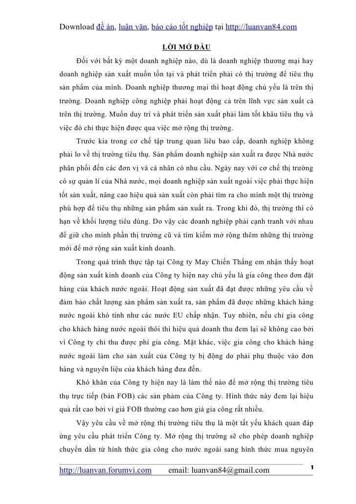 Download đề án, luận văn, báo cáo tốt nghiệp tại http://luanvan84.com                                 LỜI MỞ ĐẦU     Đối v...