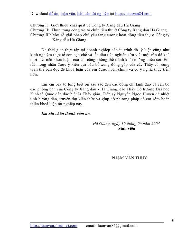 Download đề án, luận văn, báo cáo tốt nghiệp tại http://luanvan84.comChương I: Giới thiệu khái quát về Công ty Xăng dầu Hà...