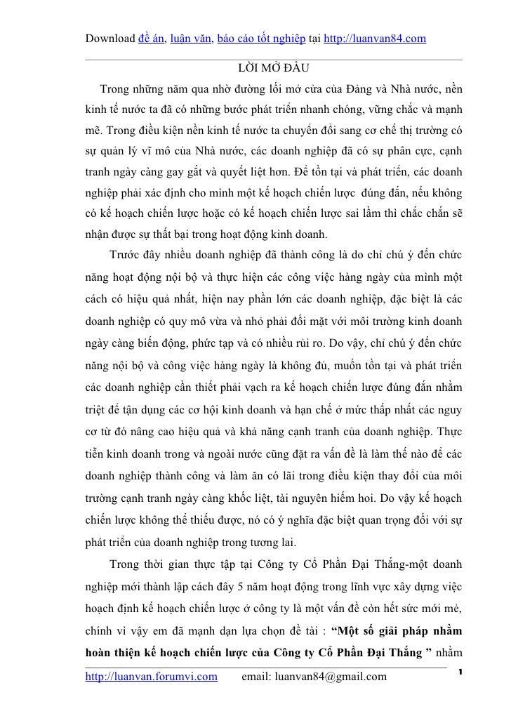 Download đề án, luận văn, báo cáo tốt nghiệp tại http://luanvan84.com                               LỜI MỞ ĐẦU   Trong nhữ...