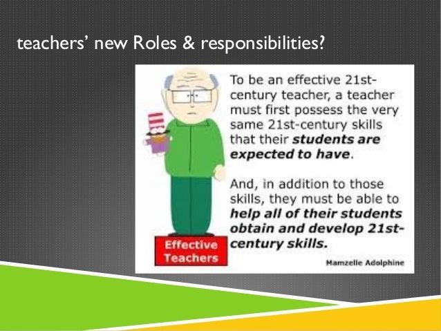 6 teachers new roles - Esl Teacher Duties