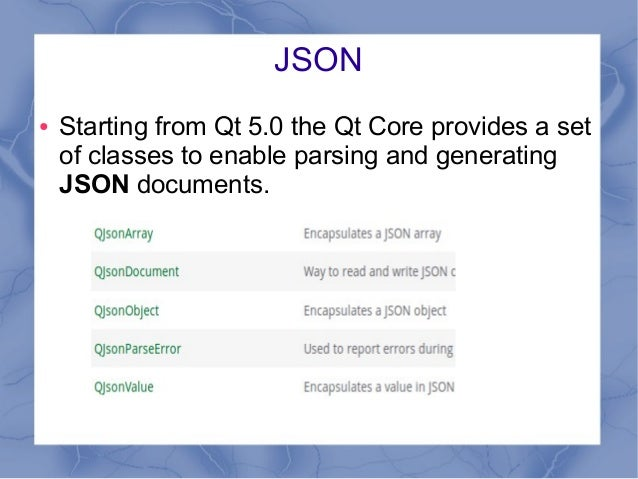 Qt json parser example