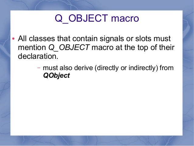 Signal slots qml