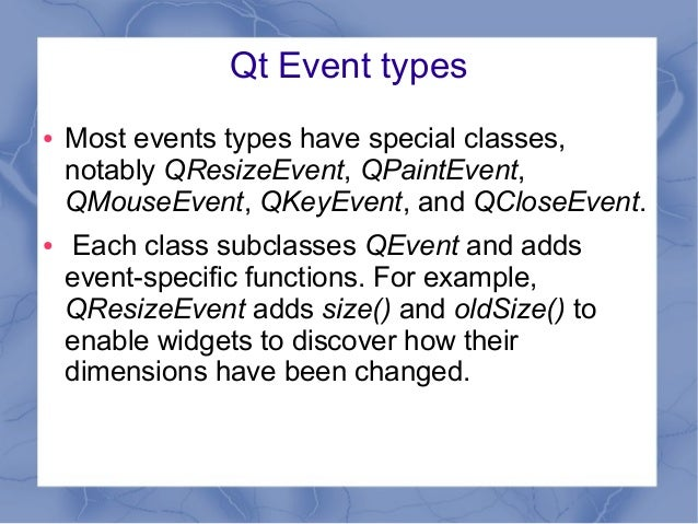 Qt 5 - C++ and Widgets