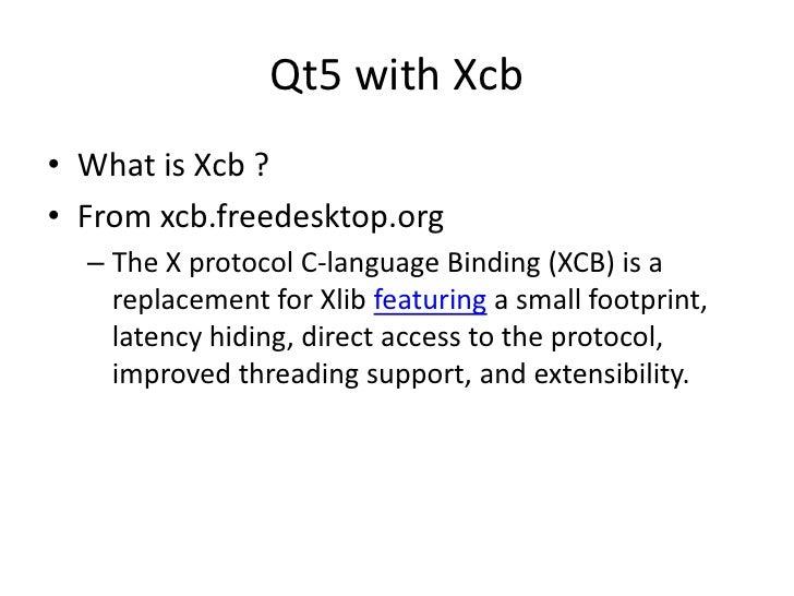 Qt5 on ti processors