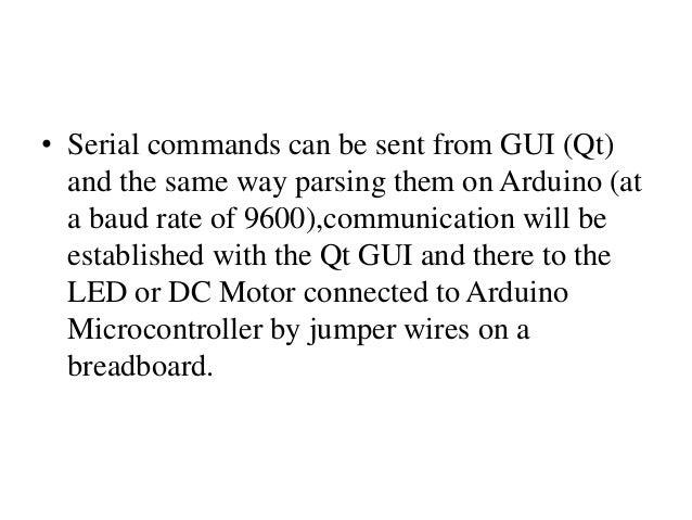 Qt arduino serial_port