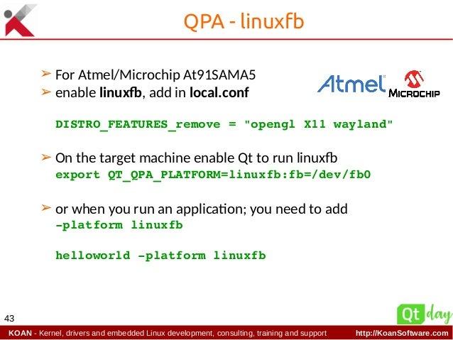 Microchip Linux Kernel