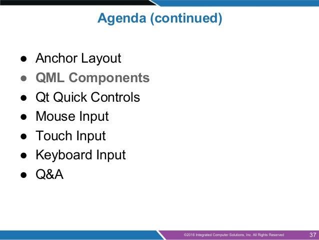 Qt for Beginners Part 3 - QML and Qt Quick