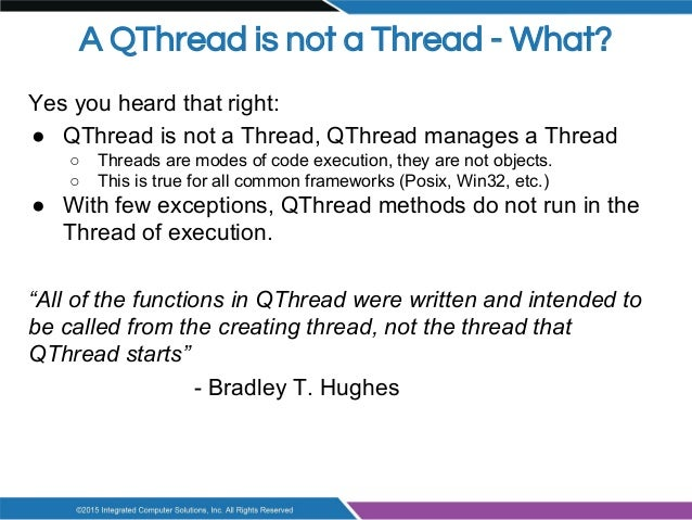 QThreads: Are You Using Them Wrong?