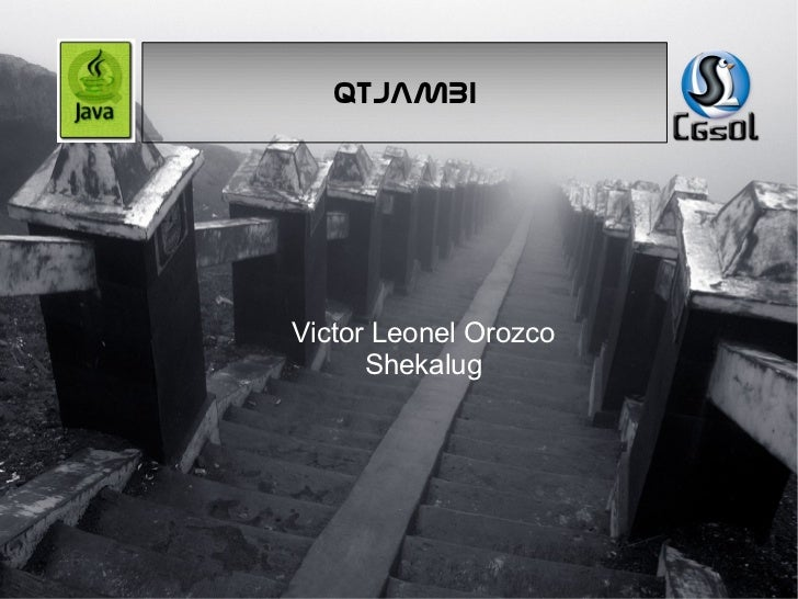 QTJAMBI Victor Leonel Orozco Shekalug