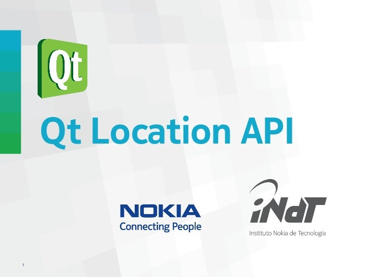 Qt Location API1