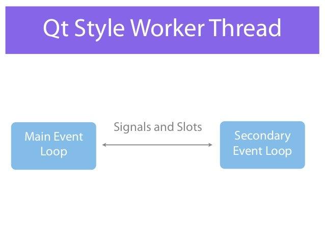 Qt multi threads