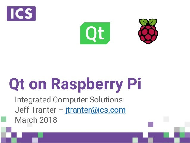 Qt on Raspberry Pi