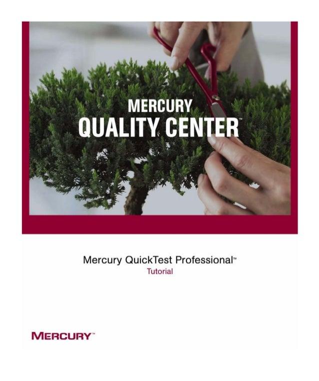 Mercury QuickTest Professional Tutorial Version 8.0